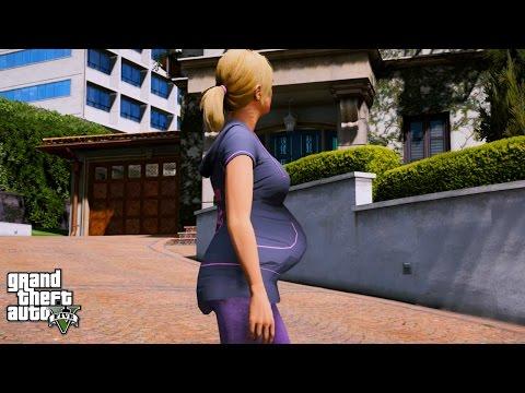GTA 5 TREVOR'S LIFE #12 PREGNANT GIRLFRIEND TRACY