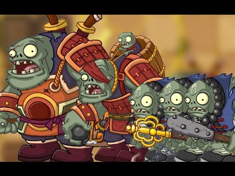 Plants Vs Zombies 2 Kung Fu World Día 25 Jefe Final Héroe Espadachín