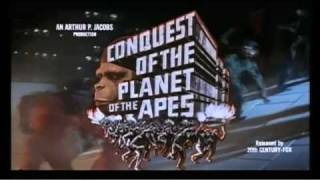 Conquest of the Planet of the Apes (1972 Trailer)