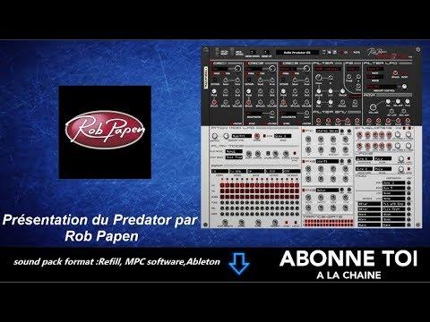 """abc du beatmaking """"propellerheads Présentation du Prédator par  Rob Papen"""""""