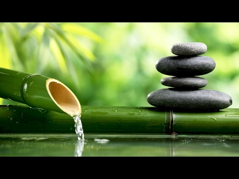 ♫ Nature sounds BAMBOO WATER FOUNTAIN, Relax & Get Your Zen On or Sleep