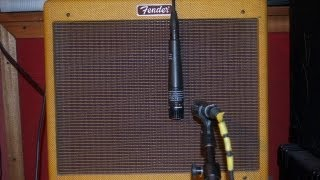 Sm57 vs SM57 - Electric Guitar Amp Mic Shootout - On-Axis vs Hanging