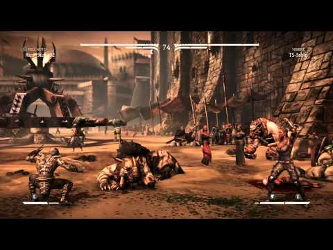MKX Player Match (PS4) - Rico Suave92 vs TS Sabin [720p/60fps]