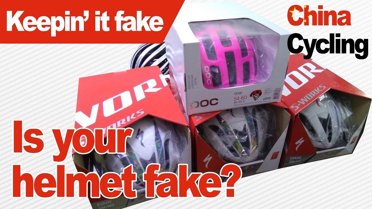 Fake Bike Helmets: Cheap But Dangerous