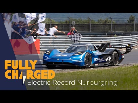 VW I.D. R smashes the Nurburgring Electric Vehicle Record | Fully Charged