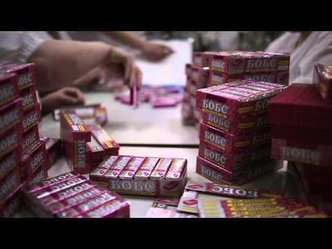ролик о конфетной фабрике
