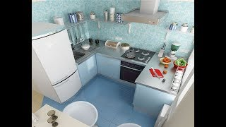 Small Kitchen Design for Small Space Ideas and Big Style