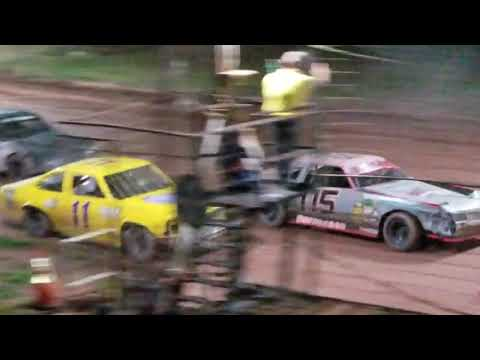 Pure Stock Feature @ Tomahawk Speedway 7/14/2018