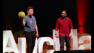 The Unlikely Neighbourhoods of Innovation | Andy Crowe & Rui Peng | TEDxAuckland video