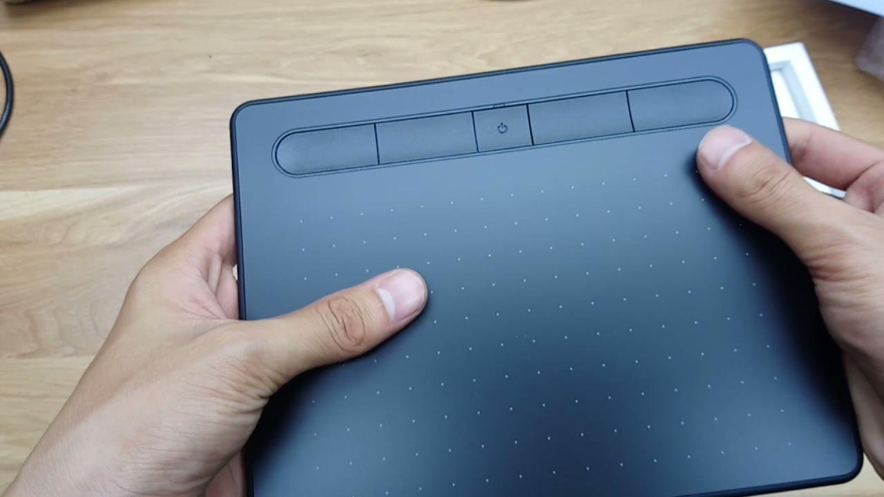 Mở hộp, hướng dẫn cài đặt và sử dụng Wacom Intuos S (Bluetooth, Black)CTL-4100WL/K