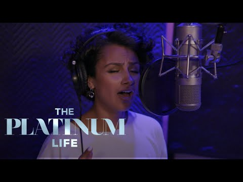 Nazanin Mandi Gets Nervous Stepping Back into the Studio | The Platinum Life | E!