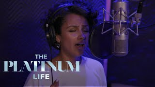 Nazanin Mandi Gets Nervous Stepping Back into the Studio | The Platinum Life | E!