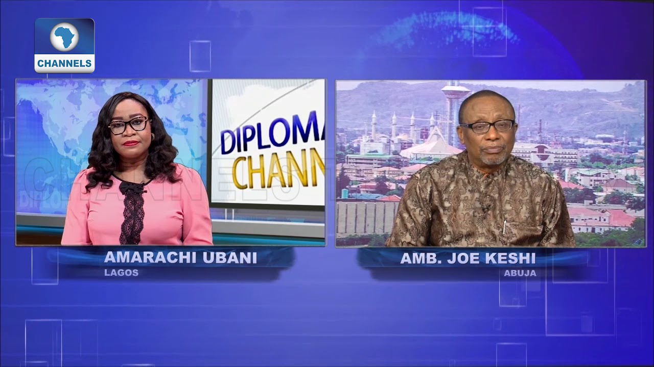 Amb Joe Keshi Dissects Impact Of Macron's Visit To Nigeria Pt.2 |Diplomatic Channel|