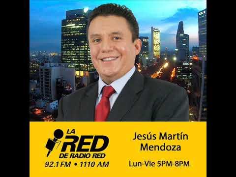 Últimos minutos de La Red de Radio Red con Jesús Martín Mendoza en XHFO-FM Radio Red 92.1 MHz.