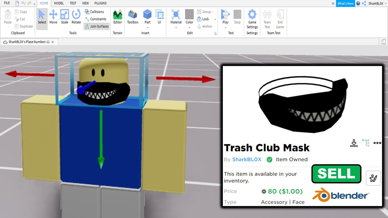 Roblox Ugc Items Id How They Are Made Roblox Ugc Accessories Youtube