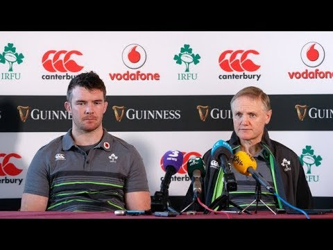 Irish Rugby TV: Ireland Team Press Conference - Argentina