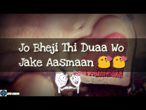 Duaa||lyrics video||female cover||varsha tripathi cover||whatsapp status||