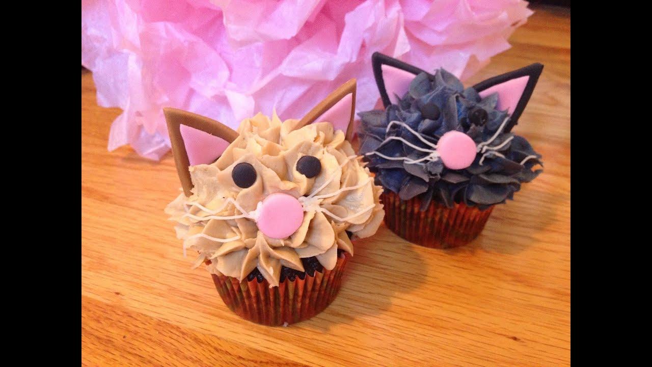 Kitty Cat Cupcakes Youtube