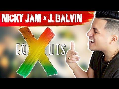 Nicky Jam x J. Balvin - X (EQUIS) English Ingles Version Letra Lyrics
