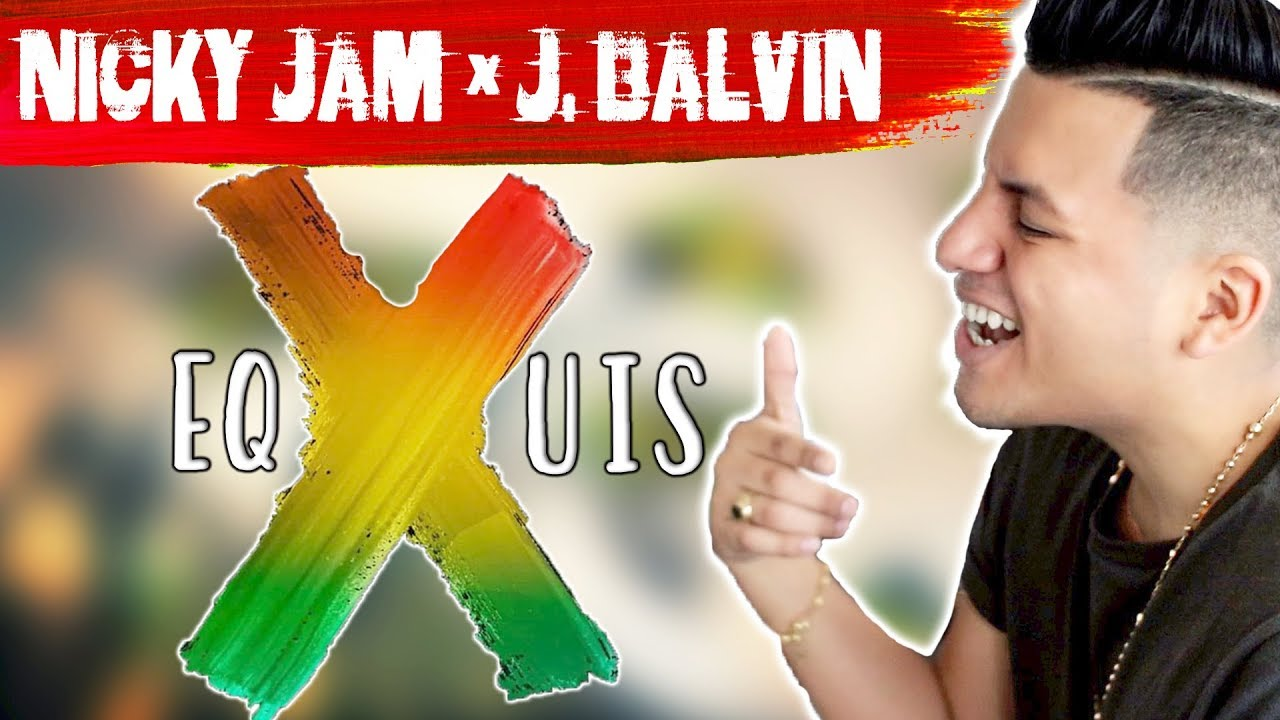 Nicky Jam J Balvin X Equis Remix Ft Maluma Ozuna Letra Lyrics Ingles English