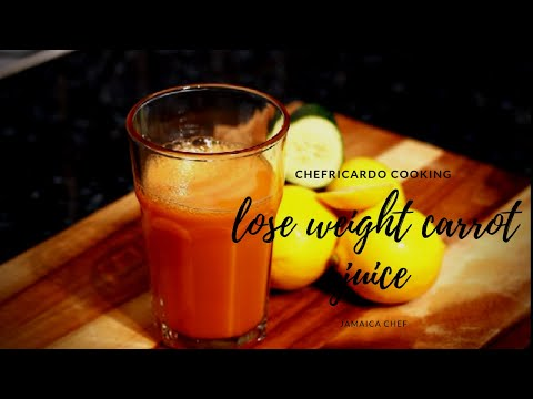 How to lose weight fast with carrot | stop no exercise no diet loose belly fat in just 10 days !!