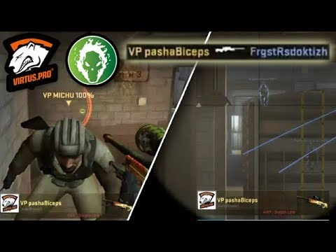 Pasha & Michu Boost Tactics! Virtus.pro Highlights VS. Fragsters