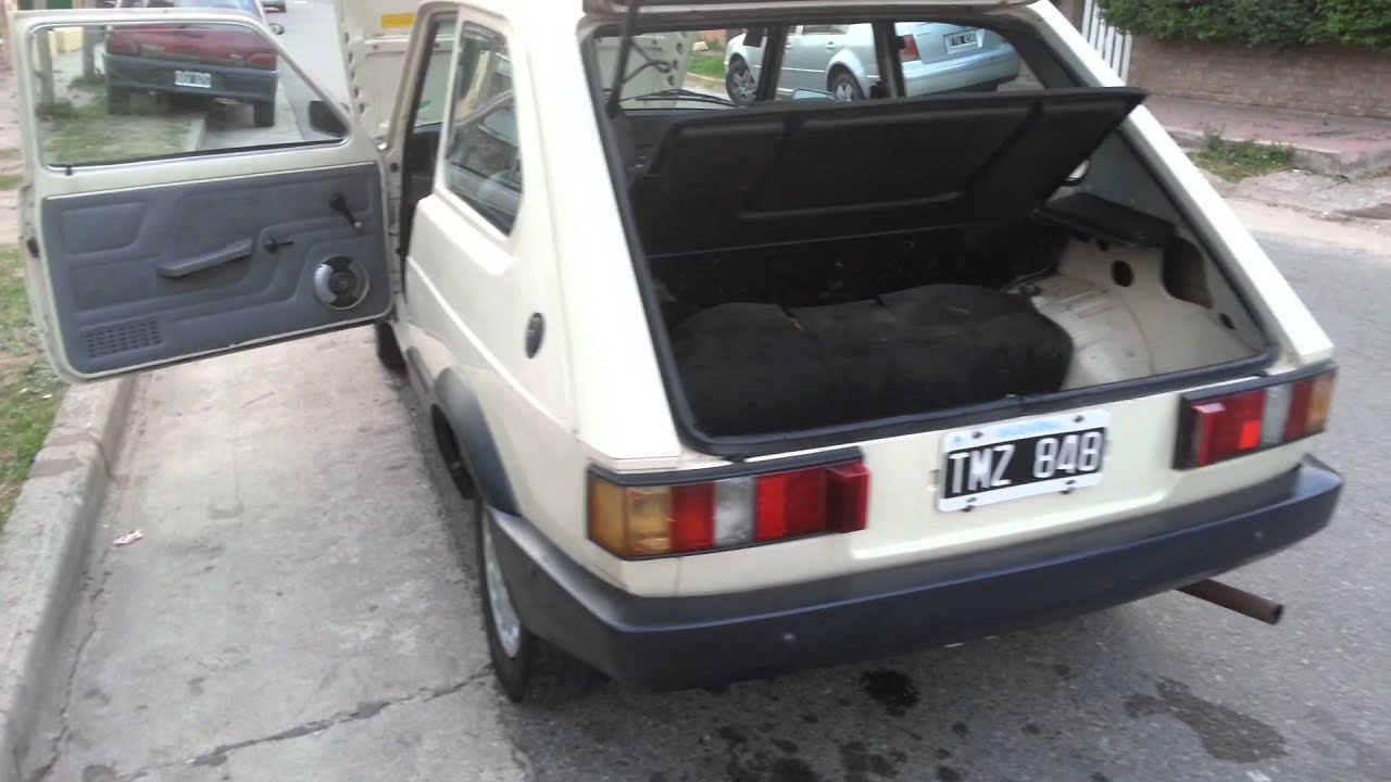 Fiat Spazio Tr 1993 Original Impecable Youtube