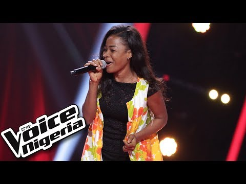 "Favour Johnson sings ""Kissing"" / Blind Auditions / The Voice Nigeria Season 2"