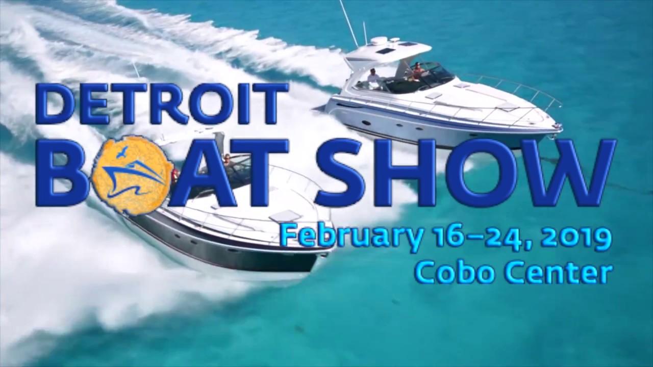 boat show detroit 2019