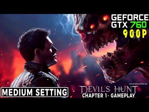 Devils Hunt Gameplay  - GTX 760 2Gb - 900p Medium - C2Q Q9550 |
