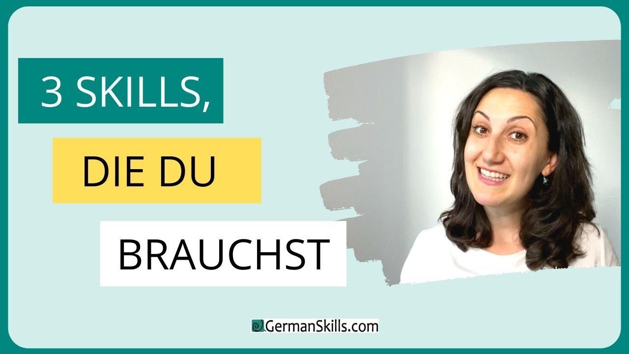 Wie lerne ich am besten Deutsch?