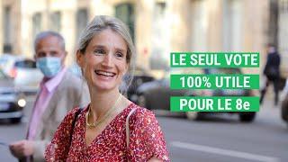 Catherine LÉCUYER, le seul vote 100% utile pour le 8e !