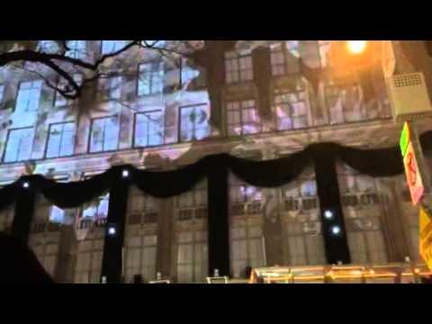 Macy's Christmas song in Rockefeller