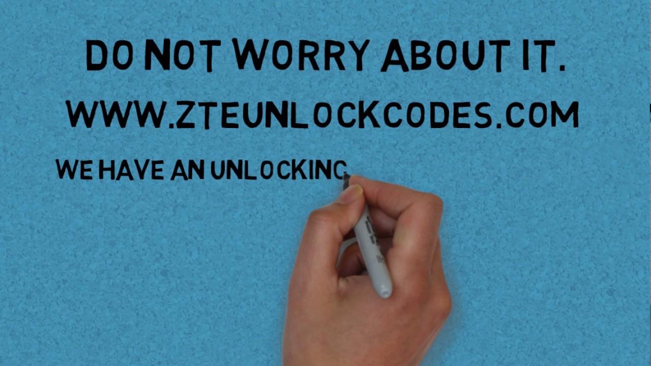Zte blade 3 unlock code calculator