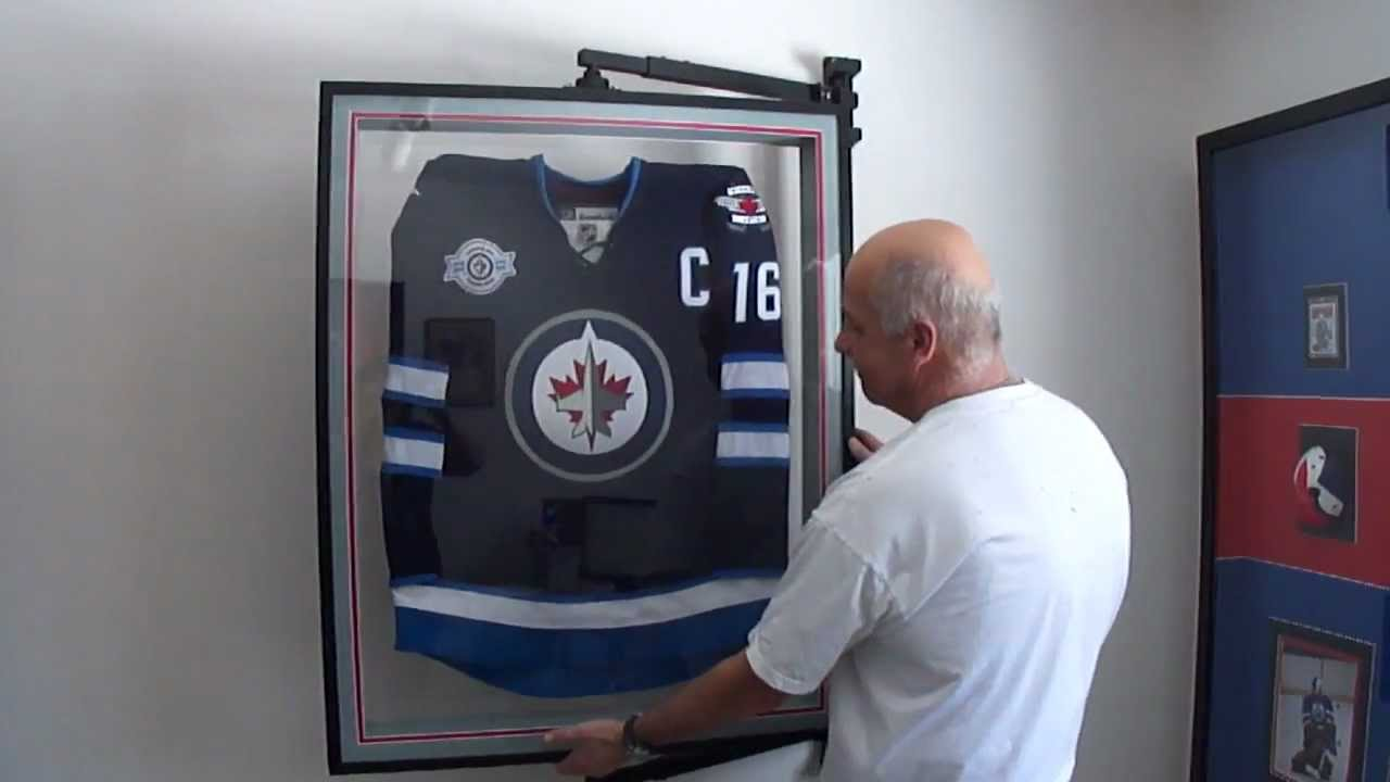 hockey jersey frame display