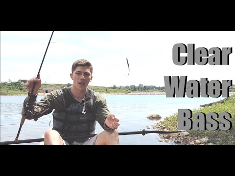 How To Fish Clear Water (3 Tips To For Bass Fishing Clear Lakes)
