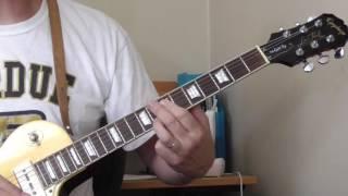blues guitar lesson a7 chord shape