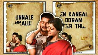 Unnale Ennalum En jeevan Song 💞 Tamil Love Song 💞 Romantic 💞 WhatsApp Status 💞 Murali Creation
