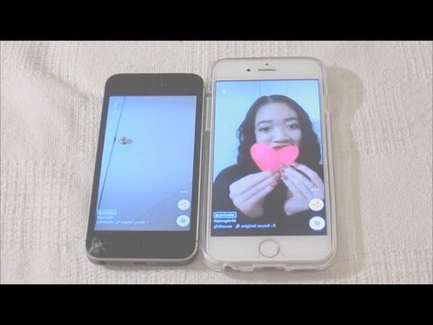 HOW TO DO THE MULTIPLE PHONES CHALLENGE ON MUSICAL.LY