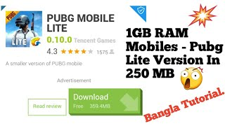 Download How To Download Pubg Mobile Lite In 359 Mb Works On 1gb Ram