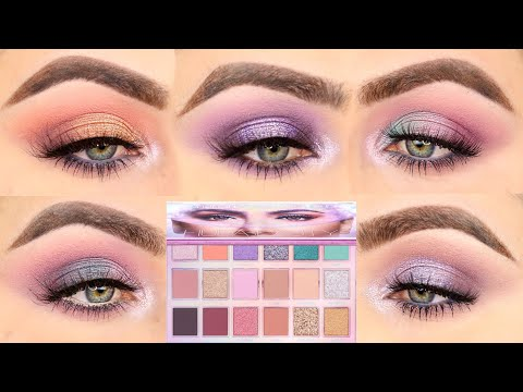5 LOOKS 1 PALETTE | 5 EYE LOOKS WITH THE MERCURY RETROGRADE PALETTE BY HUDA BEAUTY |PATTY
