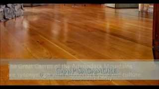 Camp Sagamore - Adirondack Cherry Wide Plank Engineered Hardwood Floors