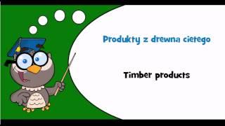 Discover Polish language #Thème = Wood
