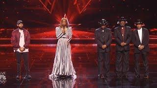 Results Quarter Finals  Eric Jones The Masqueraders  Judges Save America's Got Talent 2017 Live Vote
