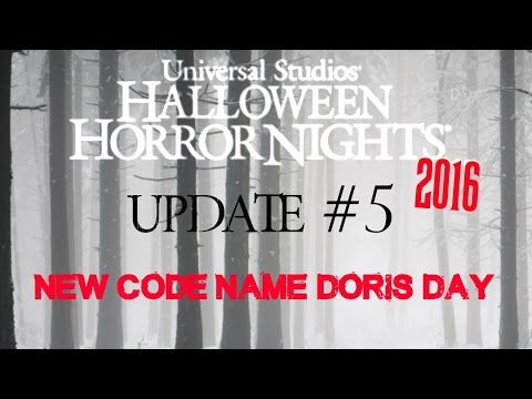 halloween horror nights 2016 update 5 new code name for maze 2