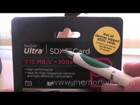Tarjeta SDXC Sandisk Ultra 64GB - Class 4