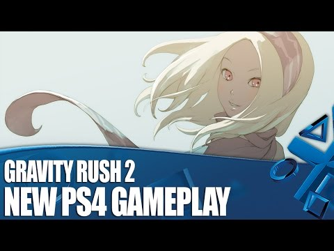 Gravity Rush 2 - New PS4 Gameplay