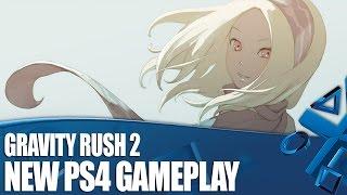 Gravity Rush 2 - New PS4 Gameplay