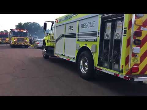 Crews respond to house fire in Hillsborough County