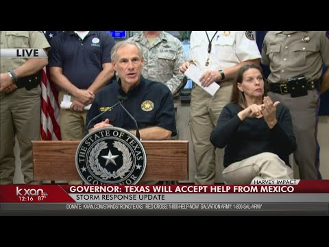 FULL VIDEO: Gov. Greg Abbott on Harvey rescue and recovery on Wednesday